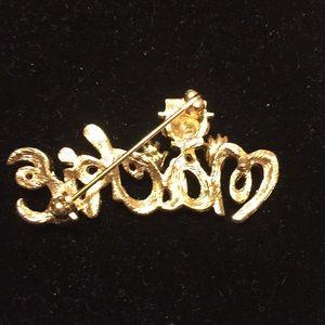 Bob Mackie Jewelry - 🤡BOB MACKIE CLOWN SIGNATURE BROOCH🤡